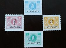 PUERTO RICO LABORATORY STAMP LOT...FOUR DIFFERENT