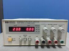Agilent/HP E3630A Triple Output DC Power Supply, 0-6V,2.5A & 0 to ±20V,0.5A, 35W