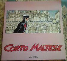Hugo Pratt CORTO MALTESE catalogo esposizione Venezia editori del grifo 1985