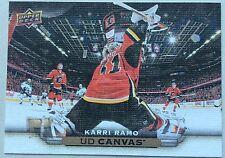 2015-16 KARRI RAMO UPPER DECK SERIES 1 UD CANVAS INSERT #C15 FLAMES