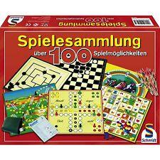 Schmidt Spiele Spielesammlung: 100 Spielmöglichkeiten, Brettspiel