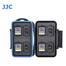 JJC MC-ST16 Memory Card Case fits 8 SD 8 MSD Storage canon T6I T7I 80D 70D T5I