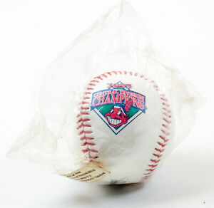 Cleveland Indians: McDonalds MLB Central Division Souvenir Baseball: 1995 | USED