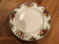 Royal Albert Old Country Roses Set of 4 Dinner Plates -England