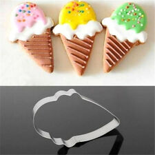 Ice Cream Stainless Steel Cookie Cutter Cake Baking Mould Biscuit X'mas ☆