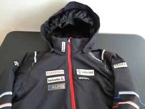 DESCENTE Boys SWISSSKI Swiss Ski LARGE Jacket Hooded FREE SHIPPING Multicolor