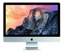 "imac Late 2013/ 21.5"" screen/2.7GHz Quad core intel/ 8GB RAM/1TB HD/ Grade A+"