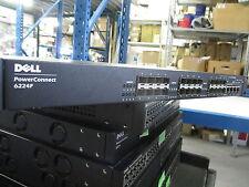 Dell Powerconnect 6224F RR224 L3 24X Port 1Gb Layer 3 Ethernet NET Fibre Switch
