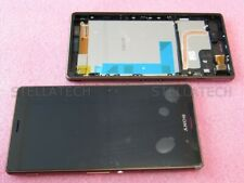Original Sony Xperia Z3 D6603 Display LCD Touchscreen+Rahmen Kupfer