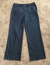 "Lifestyle Attitude by LARRY LEVINE Womens Size 10 Denim Blue Jeans 31"" Inseam"