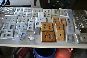 OUTLET COVERS LARGE ASST VARIOUS STYLES 58 PIECES TOTAL