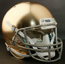 "NOTRE DAME FIGHTING IRISH *MINI* Football Helmet Nameplate ""IRISH"" Decal/Sticker"
