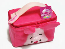 Piglet Pink Cosmetic Makeup Bag Travel Accessory Plush Case Winnie the Pooh