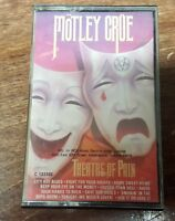 Motely Crue Theatre of Pain Cassette Tape 1985 Elektra/Asylum Records RARE