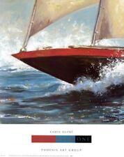 Yacht Club One by Karen Dupre Art Print Sailboat Sailing Poster 24x19