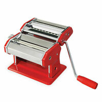 AVANTI PASTA MAKING MACHINE 150MM (12300) IN RED / ADJUSTABLE - BRAND NEW !