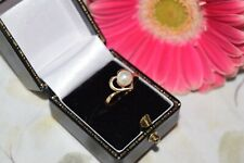 9ct Yellow Gold Heart Ring With Pearl Centre