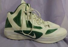 NIKE HYPERFUSE Men's 45916-107 White/Green Basketball Shoes Size 16.5
