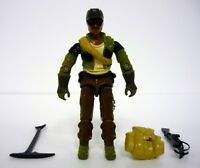GI JOE ALPINE Vintage Action Figure NEAR COMPLETE C8+ v1 1985