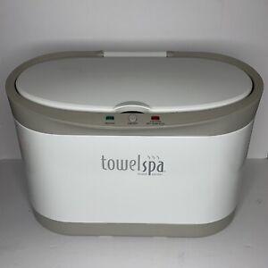 Brookstone Innovation Large Towel Spa Warmer Electric White Model TSK-5202MM