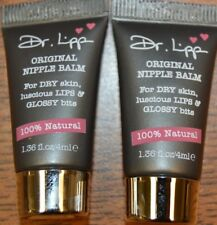 lot of 2! Dr. Lipp Original Nipple Balm for Lips, 1.36 fl oz (4ml) New