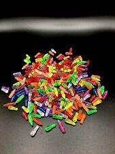 Vintage Lite Brite Pegs Multi-Colored Variety Lot Of 100