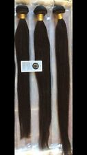 "Brazilian Human Hair, Colour #2, 3 Bundles, 20""22"",24"",Long"