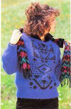 ~ Tejer patrón para Mujer Suéter motivo étnico ~