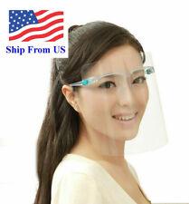 Full Face Shield Mask Clear Glasses Face Protector-Eye Helmet