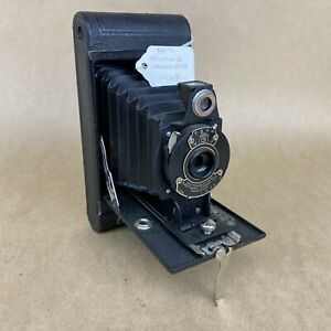 Kodak No. 2 Folding Hawkeye Model B Antique 1929 120 Film Camera