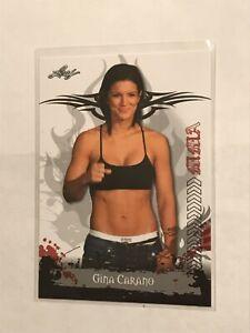 2010 Leaf MMA Gina Carano RC Rookie Card #10