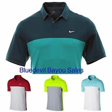 New Nike Dri Fit Icon Color Block Polo Golf Shirt 725527