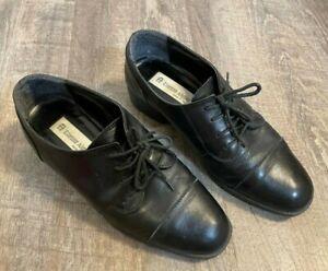 Vintage Etienne Aigner Womens Brown Lace Up Oxford Shoes Size US 7M
