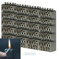 100Pcs Survival Emergency Fire Starter Flint Metal Match Lighter Hiking Camping