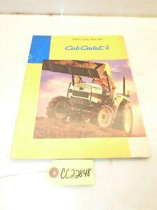 Cub Cadet Series 7000 Tractors Sales Manual