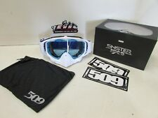509 SINISTER MX-5 GOGGLE ICE NEW