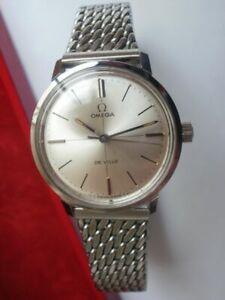 Omega seamaster de ville cal.630 steel ladies new old stock vintave wrist watch