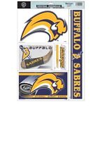 Buffalo Sabres Static Window Clings - Removable & Reusable (Set of 5)