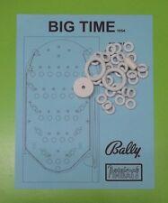 1954 Bally Big Time pinball / bingo rubber ring kit
