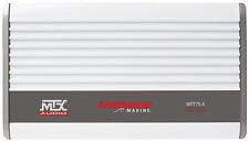 MTX WET75.4 400W RMS 4-Channel Class A/B Marine Amplifie WARRANTY FREE SHIPPING