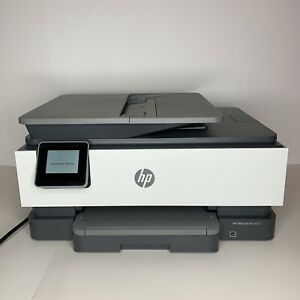HP OfficeJet Pro 8035e Color Thermal Inkjet All-In-One Printer - Gray