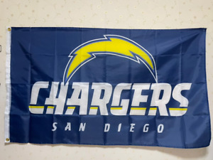 San Diego Chargers Flag 3X5 FT NFL Banner Polyester FAST SHIPPING!!!