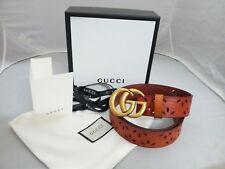 Authentic Gucci Men's Tan Brown Belt