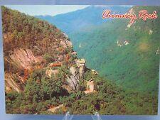 CHIMNEY ROCK NORTH CAROLINA Postcard & HICKORY NUT GORGE N.C.