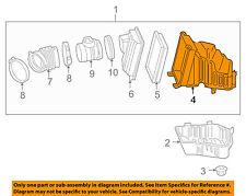 Chevrolet GM OEM 06-11 Impala Air Cleaner Intake-Case Body Housing 10350736