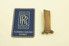 Rolls Royce Avon Jet engine - Stator blade - Bronze alloy Ex RAF aircraft part
