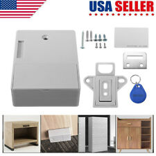Battery RFID Cabinet Drawer Hidden Digital Lock DIY Without Perforate Hole US