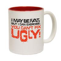 Funny Coffee Mug Novelty Birthday Gift Imaybefat Fixugly