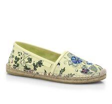 Gucci Floral Print Espadrille Flats Shoes Size 38,5 $380