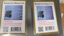 2-MagStorage Solutions Neodymium Magnet Mounting Kit